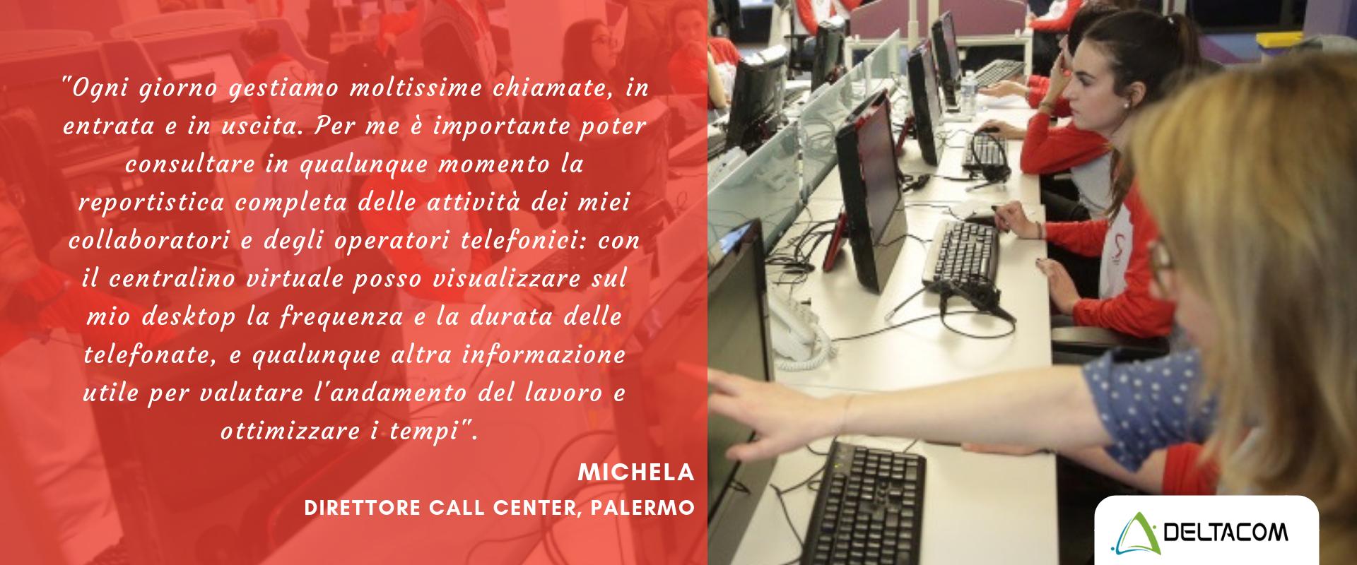 Centralino virtuale Deltacom Messina - per aziende e liberi professionisti